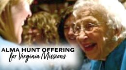 Alma Hunt Offering for Virginia Missions